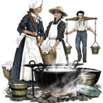 Laundresses for Soldiers
